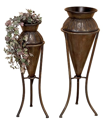 Aspire 2 Piece Round Plant Stand Set