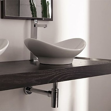 Scarabeo by Nameeks Zefiro Oval Vessel Bathroom Sink