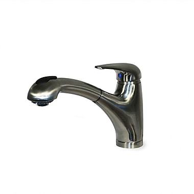 Nantucket Sinks Premium Classic Single Handle Pull Out Kitchen Faucet