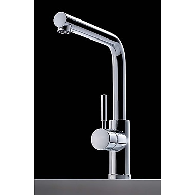 Bissonnet Cromo Single Handle Single Hole Theo Kitchen Faucet w/ Swivel Spout