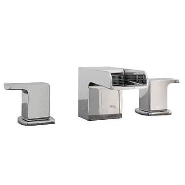 Artos Kascade Widespread Bathroom Sink Faucet w/ Cold and Hot Handles; Brushed Nickel