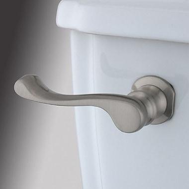 Kingston Brass French Toilet Tank Lever; Satin Nickel