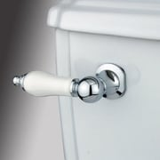 Elements of Design Made to Match Decorative Porcelain Tank Lever Arm; Polished Chrome