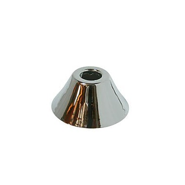 Elements of Design Decorative Escutcheon Bell Flange; Polished Chrome