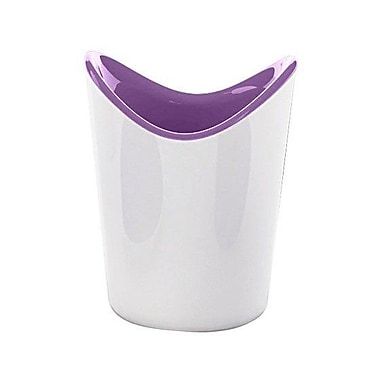 Gedy by Nameeks Moby Toothbrush Holder; White and Lilac