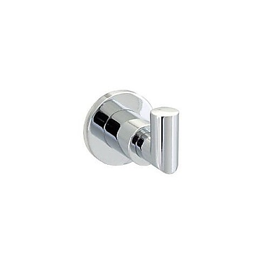 Dynasty Hardware Manhattan Wall Mounted Robe Hook; Polished Chrome