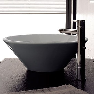 Scarabeo by Nameeks Cono Above Counter Vessel Bathroom Sink