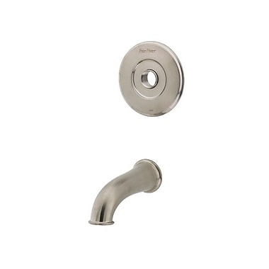 Pfister Wall Mount Tub Spout Trim; Brushed Nickel