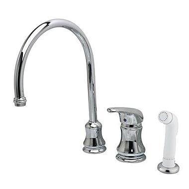 Kingston Brass Legacy Single Handle Kitchen Faucet w/ Side Spray