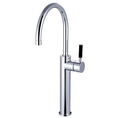 Kingston Brass Kaiser Vessel Sink Faucet; Polished Chrome