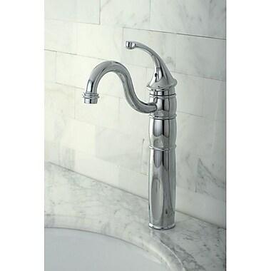 Kingston Brass Georgian Single Handle Vessel Sink Faucet; Polished Chrome