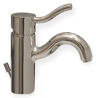 Whitehaus Collection Venus Bathroom Faucet w/ Pop-Up Waster; Polished Chrome