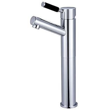 Kingston Brass Kaiser Single Handle Vessel Sink Faucet; Polished Chrome