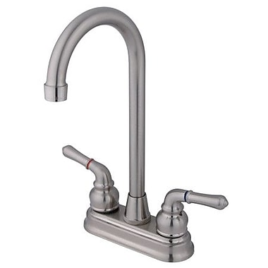 Kingston Brass Magellan Bar Faucet; Satin Nickel