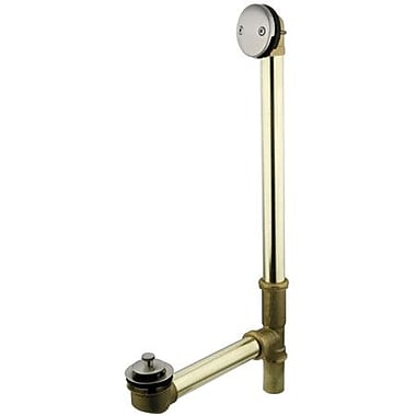 Kingston Brass Made to Match 3.19'' Trip Lever Tub Drain; Satin Nickel