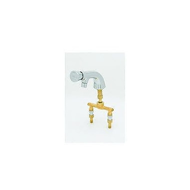 T&S Brass Single Hole Metering Faucet Less Handles