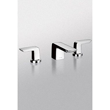 Toto Soiree Double Handle Widespread Bathroom Faucet; Brushed Nickel