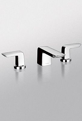 Toto Soiree Widespread Bathroom Faucet; Polished Chrome