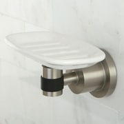 Kingston Brass Kaiser Wall Mount Soap Dish; Satin Nickel