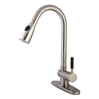 Kingston Brass Kaiser Pull Down Single Handle Kitchen Faucet