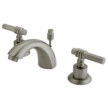 Elements of Design St. Charles Mini-Widespread Double Handle Bathroom Faucet w/ Drain Assembly