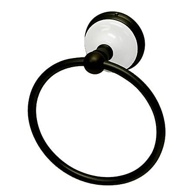 Kingston Brass Victorian Wall Mounted Towel Ring; Oil Rubbed Bronze