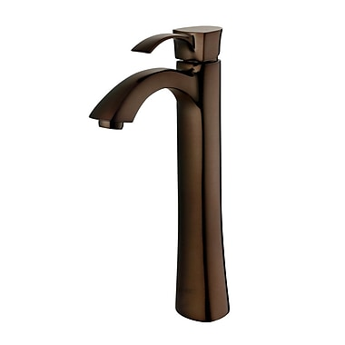 Vigo Otis Single Hole Bathroom Faucet; Rubbed Bronze
