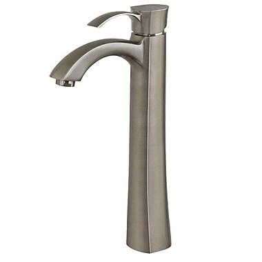 Vigo Otis Single Hole Bathroom Faucet; Brushed Nickel