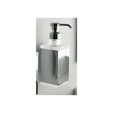 Toscanaluce by Nameeks Eden Wall Mount Rectangular Liquid Soap Dispenser; Orange