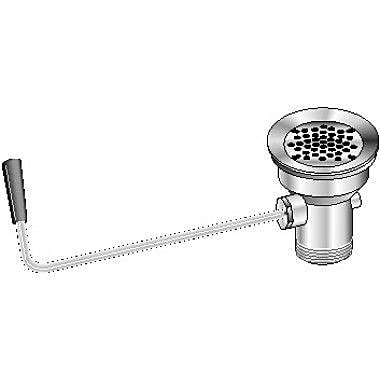 Aero Manufacturing Lever Waste 3.5'' Grid Kitchen Sink Drain