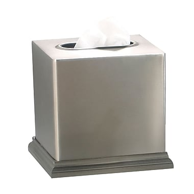 NU Steel Rosemont Boutique Tissue Box Cover
