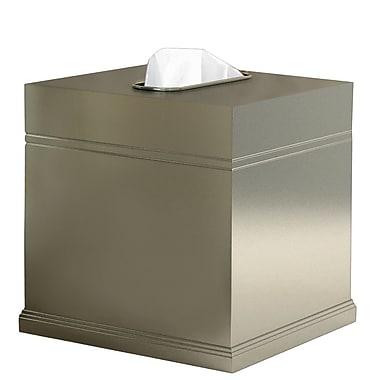 NU Steel Dual Ridge Tissue Box Cover