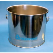 Geerpres Stainless Steel 5 Gallon Round Mop Bucket without Casters