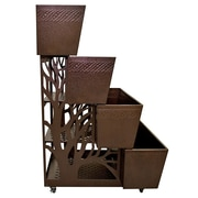 Mobilegro Platinum Steel Vertical Garden Set