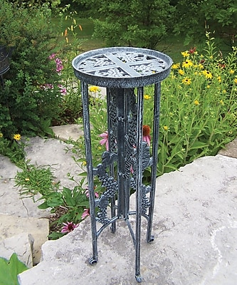 Oakland Living Novelty Plant Stand; Verdi Grey
