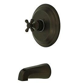 Kingston Brass Metropolitan Single Handle Tub Faucet; Oil Rubbed Bronze