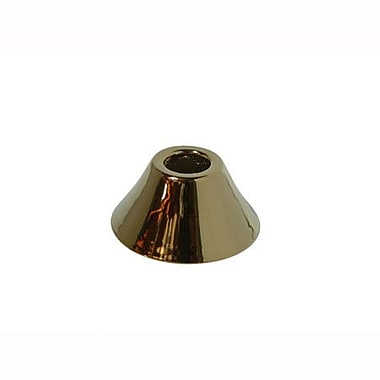 Elements of Design Decorative Bell Flange; Polished Brass