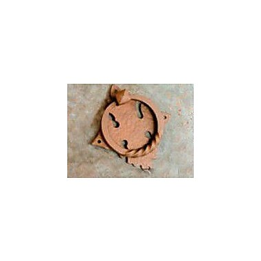 Artesano Iron Works Door Knocker; Oxidized