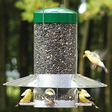 Nature Products Classic Hanging Tube Bird Feeder; 12''