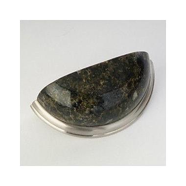 QMI 3'' Center Cup/Bin Pull; Travertine Marble