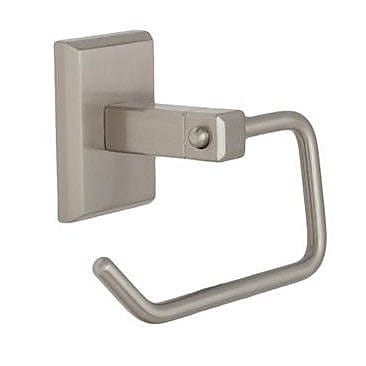 Weslock Atlas Wall Mounted Pull Towel Ring; Satin Nickel