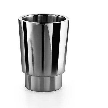 WS Bath Collections Napie Tumbler; Stainless Steel