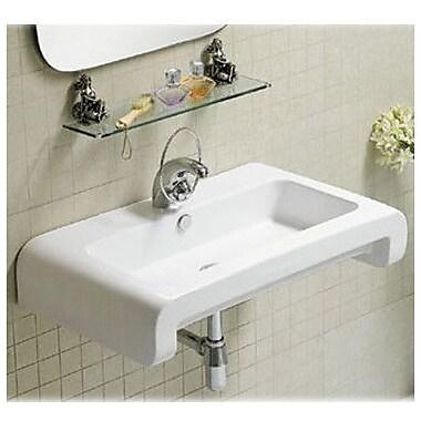 Whitehaus Collection Isabella 28'' Wall Mount Bathroom Sink w/ Overflow