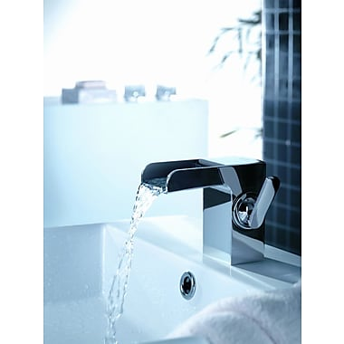 Artos Kascade Single Hole Waterfall Bathroom Sink Faucet w/ Single Handle; Chrome