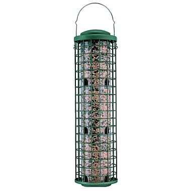 Perky Pet Fortress Squirrel Resistant Caged Tube Bird Feeder
