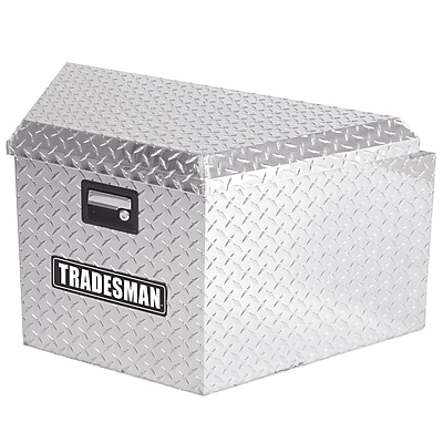 Lund Inc. Trailer Tongue Truck Box; Silver