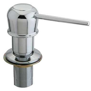Kingston Brass Heritage Decorative Soap Dispenser; Polished Chrome