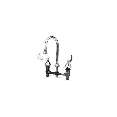 T&S Brass Widespread Medical Bathroom Faucet w/ Cold and Hot Handles