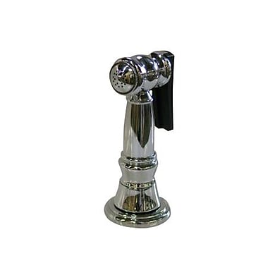 Elements of Design Brass Kitchen Side Sprayer w/ 48'' Hose; Chrome