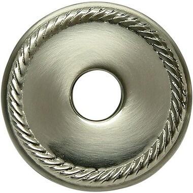 Kingston Brass 3'' Rope Decor Escutcheon; Satin Nickel